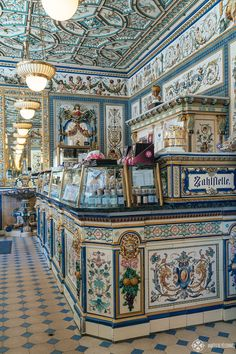 10 amazing things to do in Dresden : The Pfunds Molkerei dairy shop in the Dresden Neustadt Visit Germany, Germany Travel, Japan Travel, Vietnam Travel, Places To Travel, Places To See, Travel Destinations, Stuff To Do, Things To Do