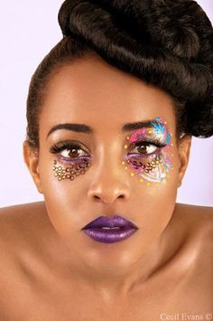 Ladies, can we and all the volunteers do makeup like this for the #Carnival !?!?!