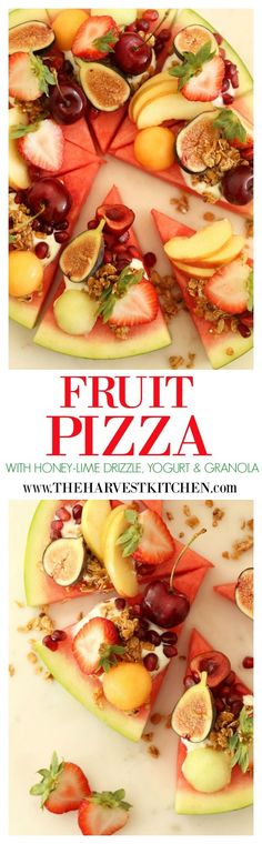 This crowd-pleasing Summery Watermelon Fruit Pizza is like having a slice of…