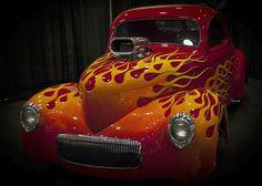Flaming hot!