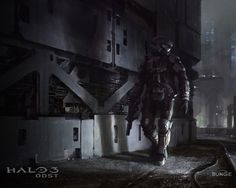 this is one of the wallpaper in Halo 3 ODST. this is my 1 i like. but here the site that the people made it [link] Comment before fav Halo 3 ODST Disney Channel, Jaime Jones, Halo 3 Odst, Halo Halo, Pokemon, Halo Reach, Guild Wars, Matte Painting, Video Game Art