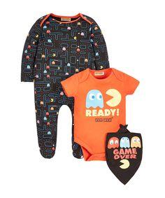 Pac-Man 3 Piece Set - baby (newborn-12 mths) - clothing