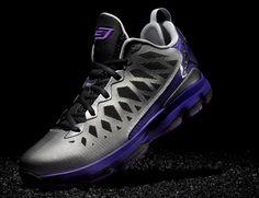 free shipping 4c412 33555 Jordan CP3.VI Nitro Metallic Silver Black Court Purple Lazer Purple CP3  Shoes 2013 Nike