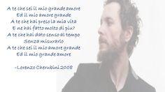 "canzone "" A te"" Lorenzo Cherubini ( Jovanotti)"