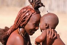 tembonzuri.tumblr.com - Himba mother and child.