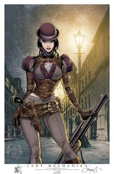 Steampunkd #art #steampunk #guns