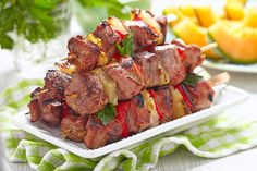 """Red Wine Marinated Lamb Kababs by Elizabeth The Hippy Winer Elizabeth """"Hippy"""" Winer - The Vineyard Trail http://www.thevineyardtrail.com/red-wine-marinated-lamb-kababs/ #wine #recipe"""