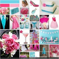 Pink Wedding Shoes on Wedding Inspirations  Turquoise And Pink Wedding