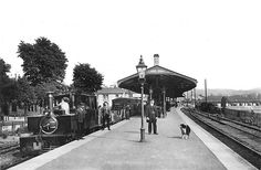 Afbeeldingsresultaat voor lynton and barnstaple Old Train Station, Train Stations, Southern Trains, Disused Stations, Steam Railway, Southern Railways, Devon And Cornwall, North Devon, British Rail