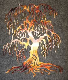 "Check out our site for additional relevant information on ""metal tree wall art decor"". It is a great location to read more. Wall Art Crafts, Wall Art Decor, Metal Tree Wall Art, Metal Art, Country House Design, Weeping Willow, Colorful Wall Art, Tree Sculpture, Tree Art"