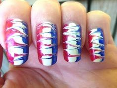 Ishah x Beauty: 4th of July Nail Art inspiration with Red Carpet Manicure