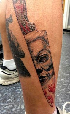 1000 images about horror tattoos on pinterest horror for Michael myers tattoo