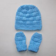 1da1c674ce4 Ravelry  JORDAN Baby Hat   Mittens pattern by marianna mel