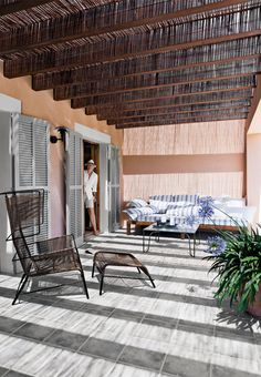 Klassisk mallorcinsk hus med have og pool