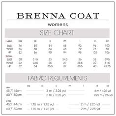 Brenna Coat WOMENS PDF pattern and tutorial by CaliFayeCollection