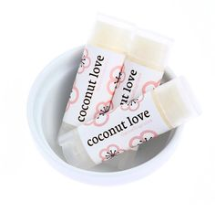Coconut Love Lip Balm with Squalane Oil Theme by themefragrance, $3.50