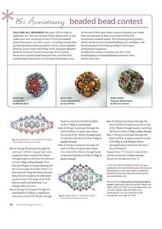 Beaded bead contest - bead 4 - 3/3 - Beading beads