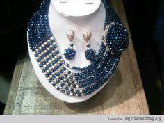 Nigerian Wedding: 23 Absolutely Stunning Coral & Swavroski Beaded Jewelry Ideas For Weddings By Gbemisola Balogun |
