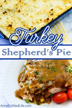 Turkey Shepherd's Pie Recipe. When you have holiday leftovers it can be difficult to think of new recipe ideas to use up the rest of the meal. This Turkey Shepherd's Pie one easy to make, delicious turkey leftovers recipe that the whole family will love!
