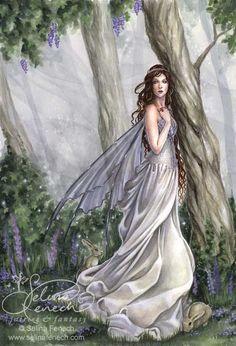 White Faerie...#fantasy #magic #art #imagination #fairy #faerie #fae: