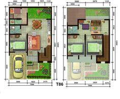 Model-Desain-Denah-Rumah-Mewah-Dua-Lantai-2014.jpg 875×725 piksel