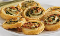 Pepperidge Farm® Puff Pastry - Recipe Detail - Spinach-Cheese Swirls
