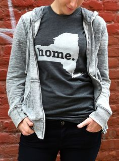 The #NewYork Home T, $25.00 (http://www.thehomet.com/new-york-home-t-shirt/)