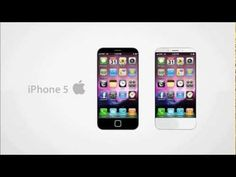 A new concept of the New iPhone 5 in HD with amazing features like interactive 3D Hologram, Holographic display, Fingerprint scanner, Lighted Apple Logo, Lighted Home Button and other incredible features.