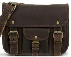 Oskar Stag by Gusti Leder 2H3d Handbag Shoulder Bag Genuine Leather Satchel Oskar Stag