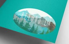 Beyond the Mountains Premade Logo Kit... by SpectacleBrandDesign