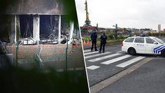 Bombenanschlag auf Polizeilabor in Brüssel (Bild: AP/Geert Vanden Wijngaert)