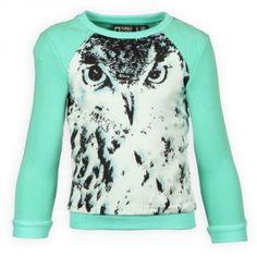Tumble n Dry Hippe Meisjes Sweaters Seneca Electric Green