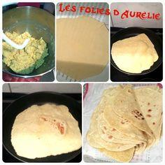 Les tortillas pour fajitas