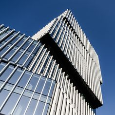 Silver Tower Center in Wroclaw Built in 2012-14 Height: 55m