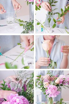 8 steps to the perfect floral arrangement