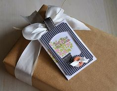 Garden Variety II Gift Tag by Maile Belles for Papertrey Ink (April 2012)..........nice for a housewarming gift.
