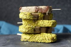 banana nutella and salted pistachio popsicles | smittenkitchen.com