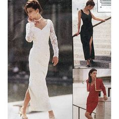 McCall's Sewing Pattern 6779 Sew News Misses Lined Bolero & Dress in 2 Lengths