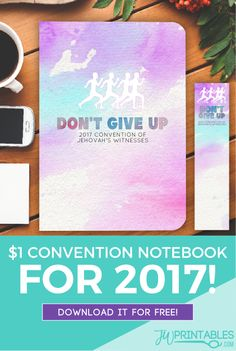 It's convention time! Once again, a huge spiritual feast awaits us at the 2017 Don't Give Up! Conventions of Jehovah's Witnesses. Our convention is in a couple of weeks! And…