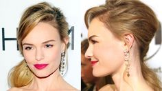 Holiday Makeup Ideas - Best Celebrity-Inspired Holiday Makeup Looks - Harper's BAZAAR New Year's Makeup, Beauty Makeup, Hair Beauty, Kate Bosworth, Bridal Hair And Makeup, Hair Makeup, Makeup Articles, Beauty And The Best, Holiday Makeup Looks