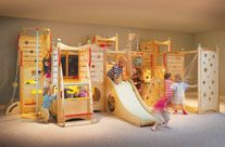 INDOOR play-set! Holy cow!