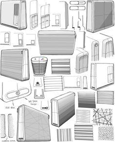 Humble Printer Sketch by Tom Peach 14