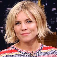 The architectural bob (here, on Sienna Miller) and the four other top cuts to try for spring. Good Hair Day, Great Hair, Sienna Miller Hair, Celebrity Hair Stylist, New Haircuts, Pretty Hairstyles, Spring Hairstyles, Bob Hairstyles For Fine Hair With Fringe, Hair Today