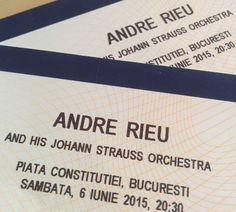 Intră în concurs pentru a câștiga 2 bilete la concertul André Rieu din Piața Constituției de sâmbătă, 6 iunie, ora 20.30.