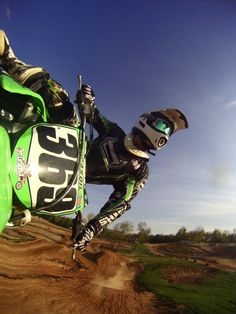 Awesome GoPro view (motocross)