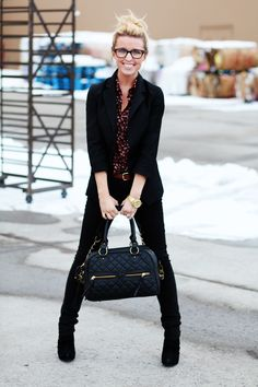 Sydney of The Daybook. One of my absolute FAVORITE fashion bloggers. She's just presh.