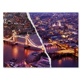 Found it at Wayfair - City Lights London by Philippe Hugonnard Graphic Art on Wrapped Canvas