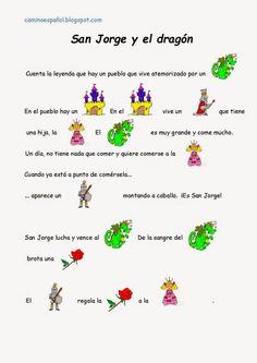 Camino español : San Jorge y el dragón (niños)