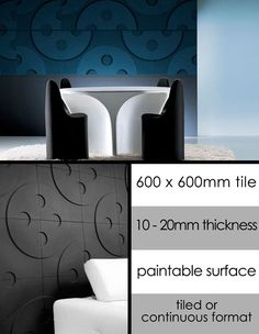 Time Designer Feature Wall in 3D (113L)