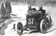 A.L.F.A. 20-30 ES Sport - Targa Florio 1922 - #37 Enzo Ferrari.